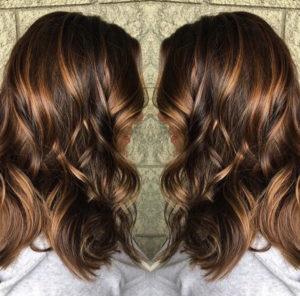 Carmello Balayage Hair Color Idea