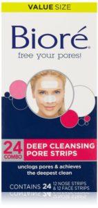 Best Pore Strips: Biore Deep Cleansing Pore Strips