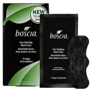 Best Pore Strips: Boscia Charcoal Pore Strips