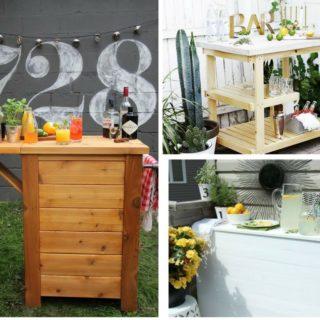 11 DIY Outdoor Bar Ideas to Instantly Upgrade Your Backyard