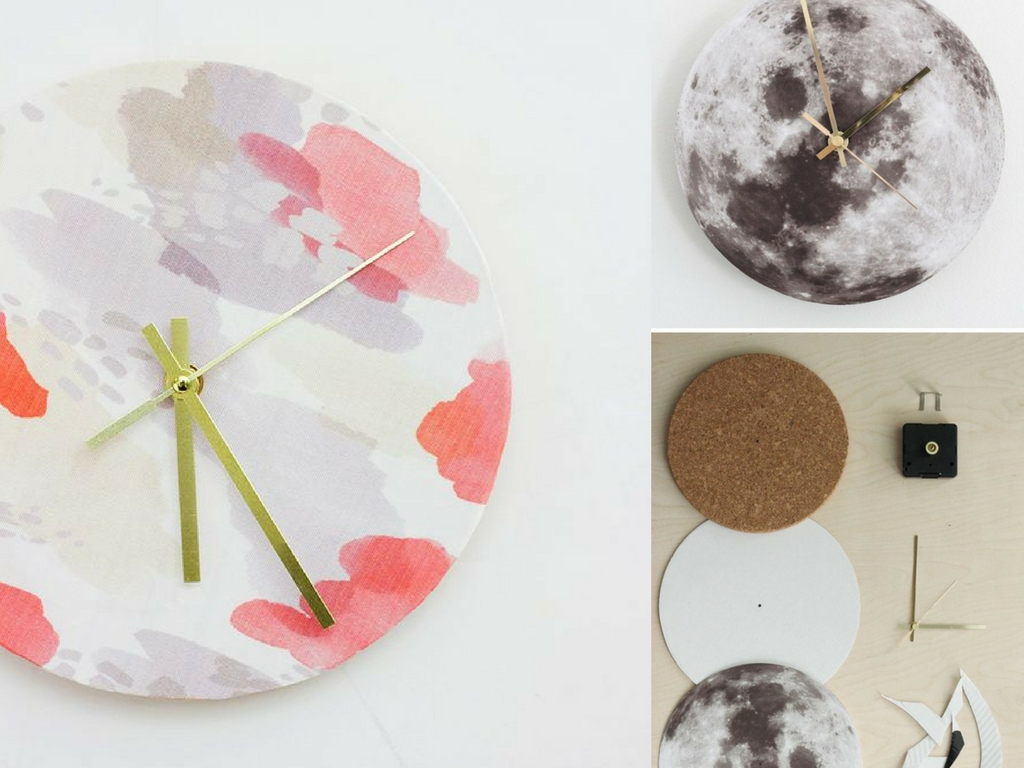 16 Diy Wall Clock Ideas You Can Make In No Time She