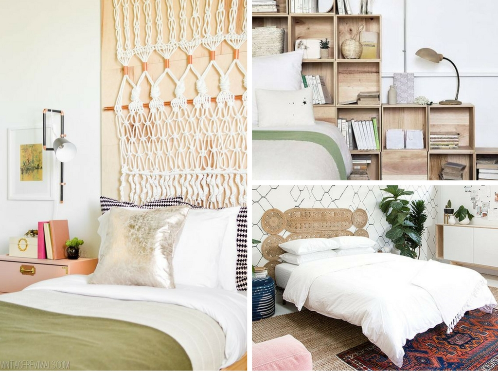 Picture of: 21 Unique Diy Headboard Ideas To Transform Your Bedroom She Tried What