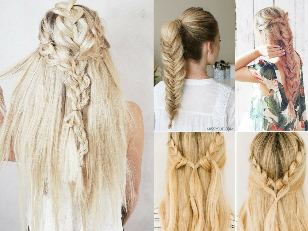25 Easy Braided Hairstyles In 10 Minutes Or Less She
