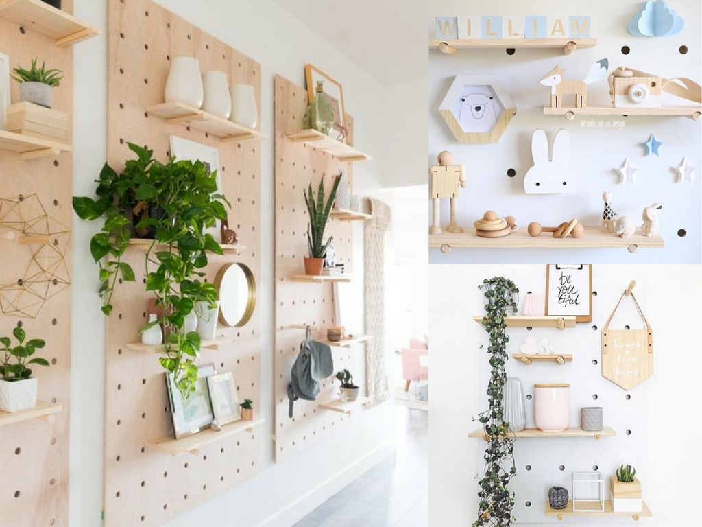 25 Pegboard Ideas To Organize Every Room In The House