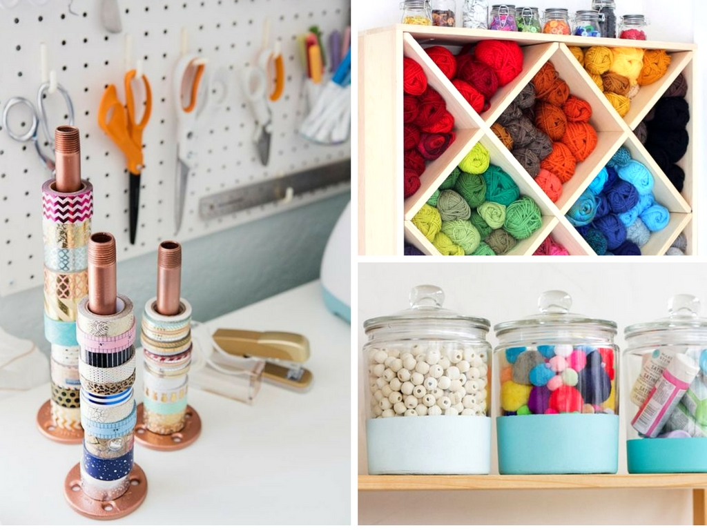 19 Craft Room Organization Hacks You Need To See She