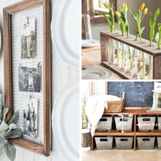 19 DIY Farmhouse Decor Projects For Your Own Fixer Upper
