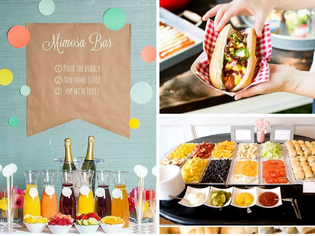 18 best food bar ideas perfect for your next party she for Food bar ideas for a party