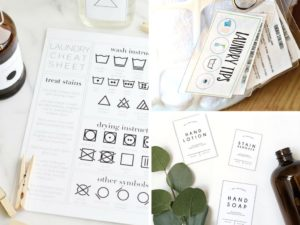17 Free Printables to Effortlessly Organize Your Laundry Room