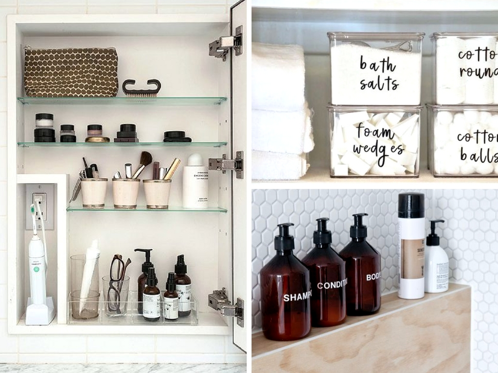 23 Small Bathroom Organization Hacks To Save Space She