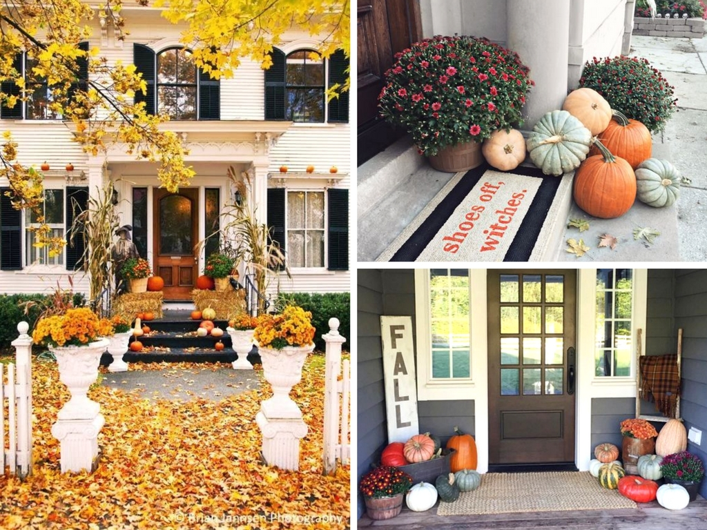 26 Fall Porch Decor Ideas That Are Cheap & Easy to Copy - She