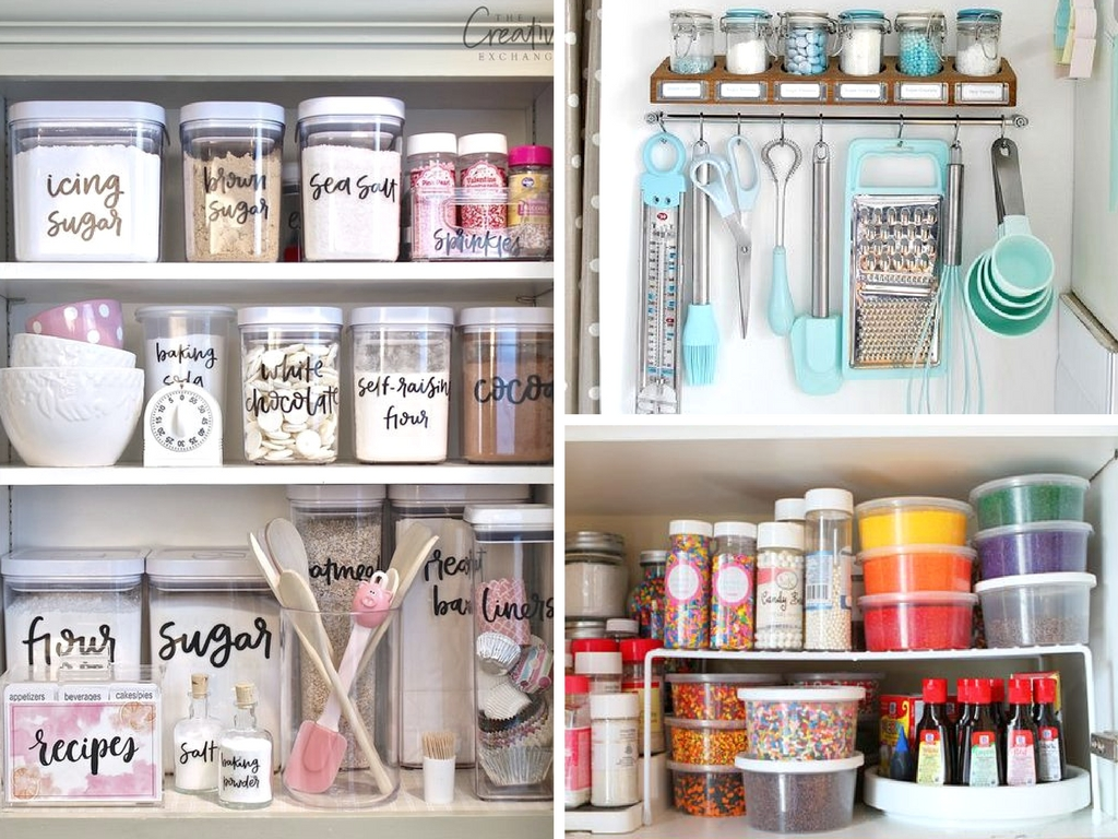 14 Baking Cabinet Organization Ideas Worth Copying She
