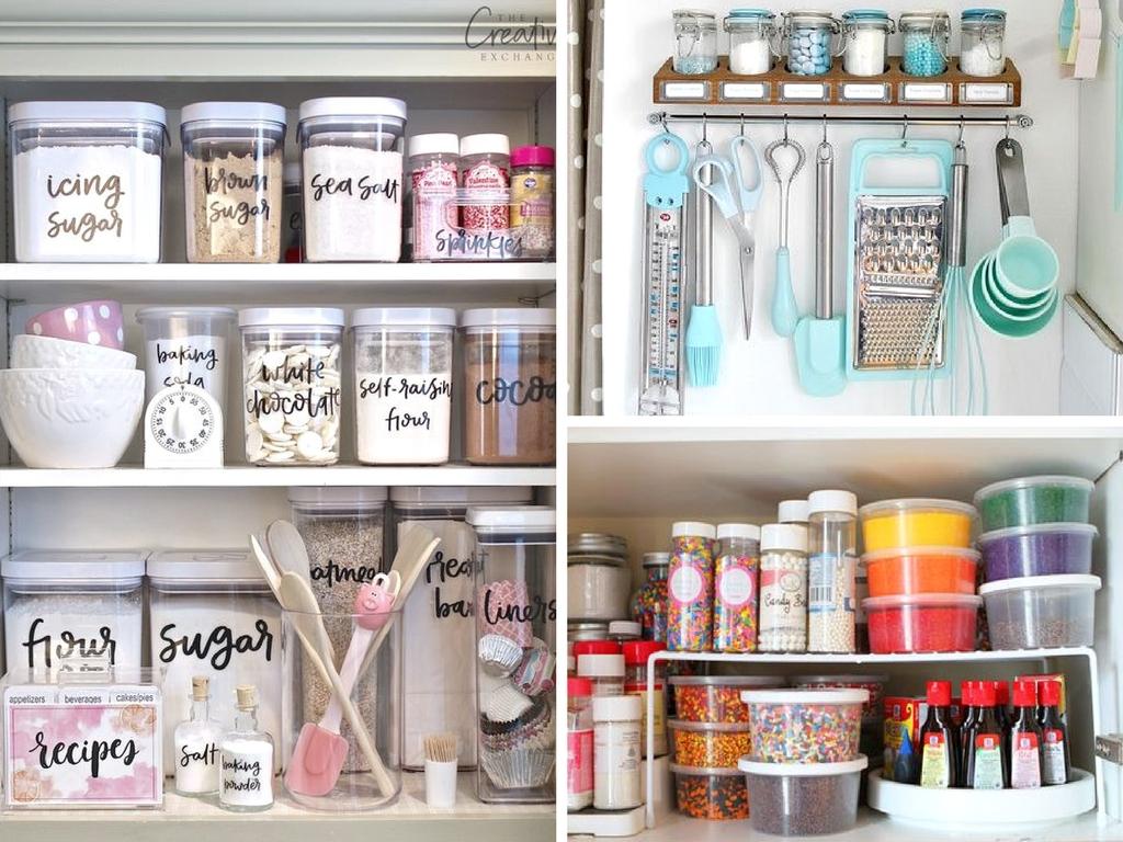 Kitchen Organization Pantry Storage Containers