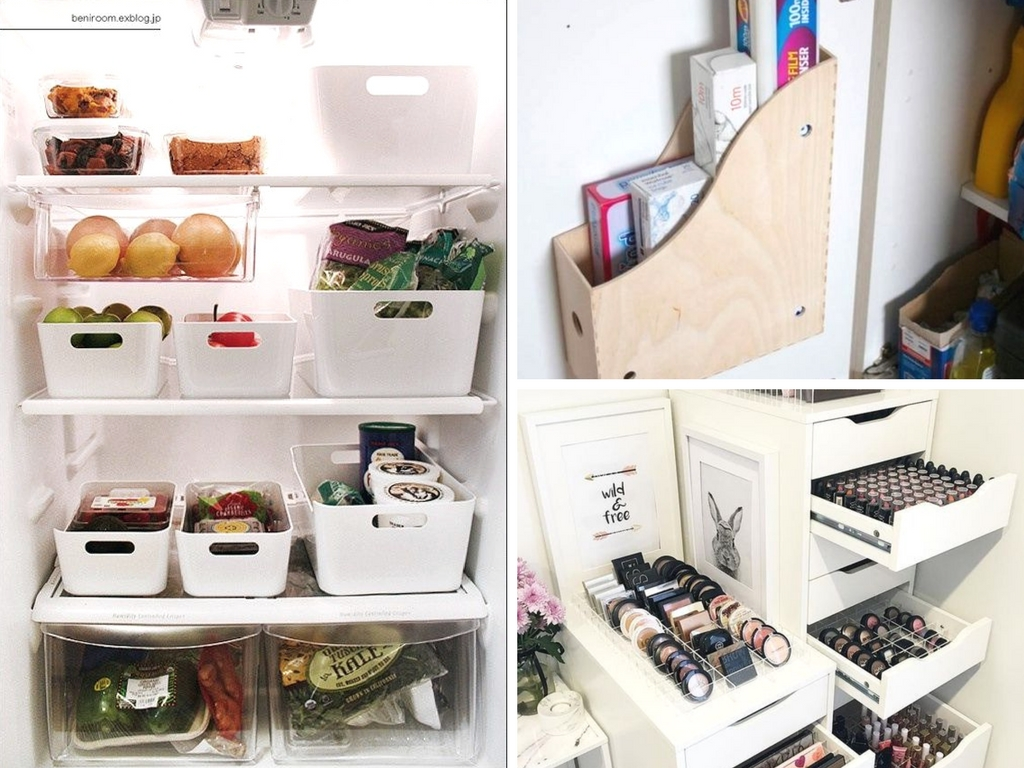 12 genius ikea hacks to finally get organized she tried what. Black Bedroom Furniture Sets. Home Design Ideas